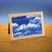 Cloudy Sky iQuote Desktop Print