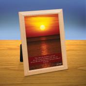 Sunset Ocean iQuote Desktop Print