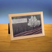 White Tree iQuote Desktop Print