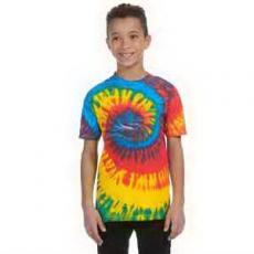 Apparel - Tie-Dye Youth 5.4 oz, 100% Cotton Tie-Dyed T-Shirt