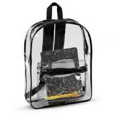 Apparel - Liberty Bags Clear Backpack