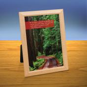 Wooded Path iQuote Desktop Print