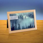 Cloud Covered Forest iQuote Desktop Print