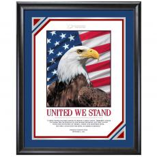 Limited Edition United We Stand Motivational Poster