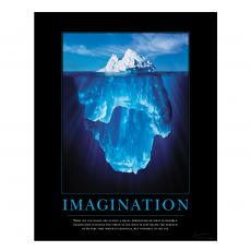 Classic Motivational Posters - Imagination Iceberg Motivational Poster