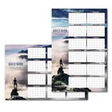 Successories 2018 Erasable Wall Calendar