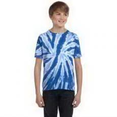 Apparel - Tie-Dye Youth 5.4 oz. 100% Cotton Tie-Dyed T-Shirt