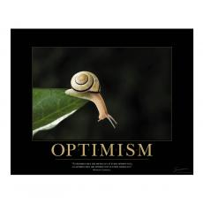 All Motivational Posters - Optimism Snail Motivational Poster
