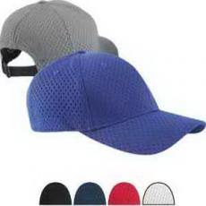 Apparel - Six Panel Structured Mesh Baseball Cap