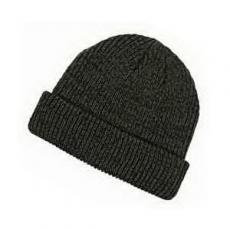 Apparel - Big Accessories Ribbed Marled Beanie