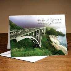 Pacific Bridge 25-Pack Greeting Cards