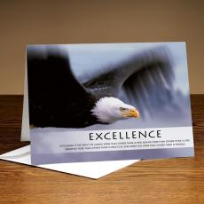 Excellence Eagle 25-Pack Greeting Cards