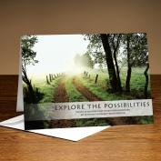 Explore The Possibilities Path 25-Pack Greeting Cards