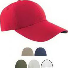 Health & Safety - Six Panel Cap with Elongated Bill