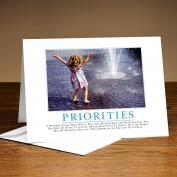 Priorities Girl 25-Pack Greeting Cards