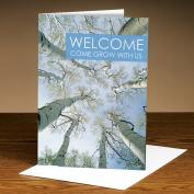 Welcome Trees 25-Pack Greeting Cards