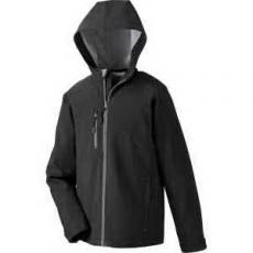 Apparel - Prospect Two-Layer Fleece Bonded Soft Shell Hooded Jacket