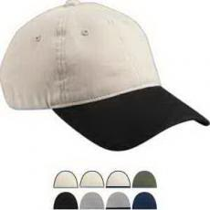 Apparel - Big Accessories Heavy Brushed Twill  Unstructured Cap