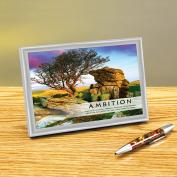 Ambition Framed Desktop Print