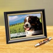 Be True Framed Desktop Print
