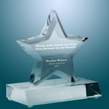 Exceptional Superstar Acrylic Award
