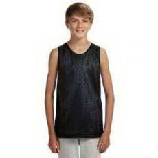 Apparel - A4 Youth Reversible Mesh Tank Top