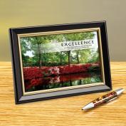 Excellence Azalea Framed Desktop Print