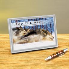 Lead The Way Framed Desktop Print