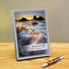 Passion Sea Spray Framed Desktop Print