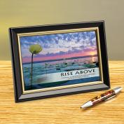 Rise Above Lily Pads Framed Desktop Print