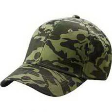 Apparel - Big Accesories Structured Camo Hat