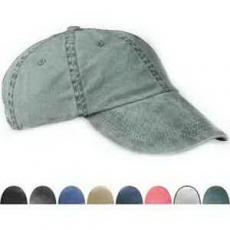 Apparel - Six panel pigment-dyed twill cap
