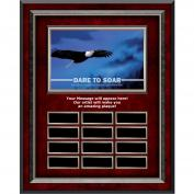 Dare To Soar Rosewood Vertical Perpetual Plaque Program (703226), Awards & Recognition