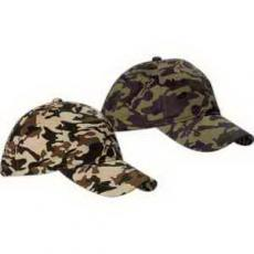 Apparel - Unstructured Camouflage Hat
