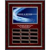 Above & Beyond Rosewood Vertical Perpetual Plaque Program (703242), Awards & Recognition