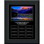 Excellence Mountain Gunmetal Vertical Perpetual Plaque (703248), Shop by Theme