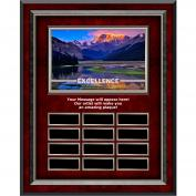 Excellence Mountain Rosewood Vertical Perpetual Plaque (703250), Shop by Theme