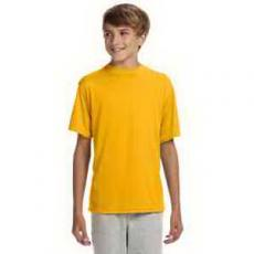 Apparel - A4 Youth Short-Sleeve Cooling Performance Crew