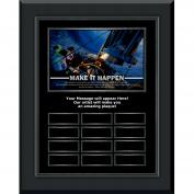Make It Happen Sailboat Gunmetal Vertical Perpetual Plaque Program (703264), Awards & Recognition