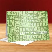 Happy Everything Green 25-Pack Greeting Cards