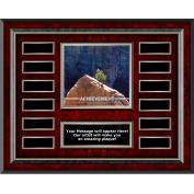 Achievement Tree Rosewood Horizontal Perpetual Plaque