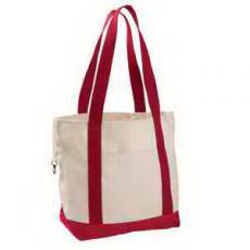Home & Family - Econscious 12 oz. Organic Cotton Canvas Boat Tote Bag