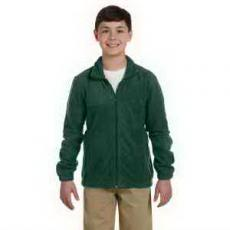 Apparel - Harriton Youth 8 oz Full Zip Fleece