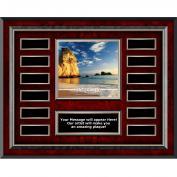 Integrity Rock Rosewood Horizontal Perpetual Plaque