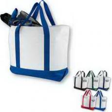 Home & Family - Bay View Giant Zippered Boat Tote