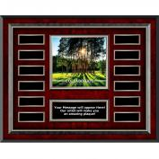 Collaborate Tree Rosewood Horizontal Perpetual Plaque