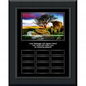 Ambition Gunmetal Vertical Perpetual Plaque Program (703392), Awards & Recognition