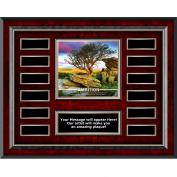 Ambition Rosewood Horizontal Perpetual Plaque