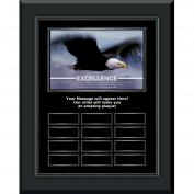 Excellence Eagle Gunmetal Vertical Perpetual Plaque Program (703416), Awards & Recognition