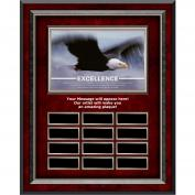 Excellence Eagle Rosewood Vertical Perpetual Plaque (703418), Shop by Theme